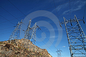 Power Lines Stock Images - Image: 19035994