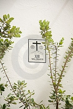 Via Crucis Royalty Free Stock Images - Image: 19037609