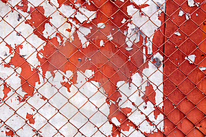 Iron Gate With Fence Stock Photos - Image: 19039443