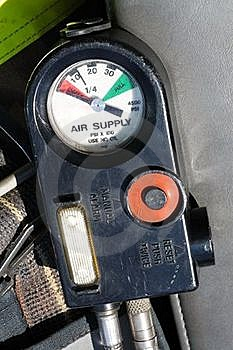 Air Supply Gauge Stock Photo - Image: 19039520