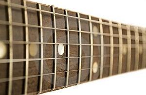 Guitar Fretboard Stock Image - Image: 19039671