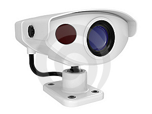 Security Camera Royalty Free Stock Image - Image: 19040646