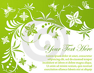 Floral Background Stock Photography - Image: 19045232