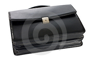 Fashionable Leather Briefcase Stock Images - Image: 19046304