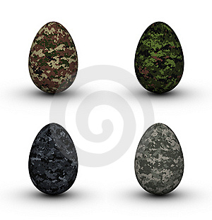 Military Easter Eggs Stock Photos - Image: 19047003