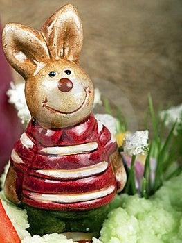 Easter Bunny Figure Stock Photo - Image: 19048500