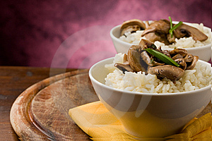 Risotto With Mushrooms Stock Images - Image: 19051304