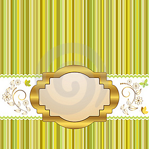 Golden Frame. Stock Photography - Image: 19051432