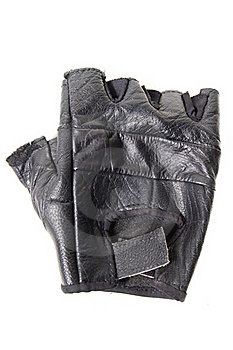Old Sporting Glove Isolated Stock Photo - Image: 19052460