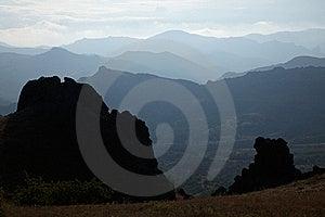 Ridge On Twilight Stock Photos - Image: 19052543
