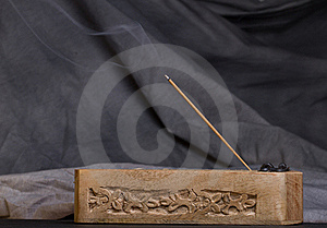 Incense Burning Royalty Free Stock Photo - Image: 19053265