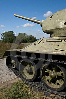 Tank T-34 Stock Photo - Image: 19054870