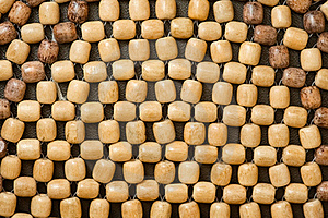 Wooden Beads Stock Image - Image: 19056811