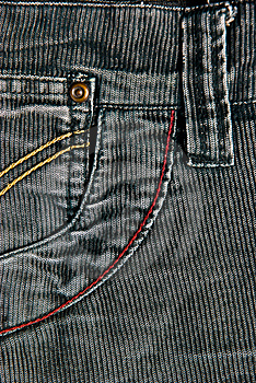 Corduroy Pants Detail Stock Images - Image: 19058074