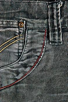 Corduroy Pants Detail Stock Images - Image: 19058074