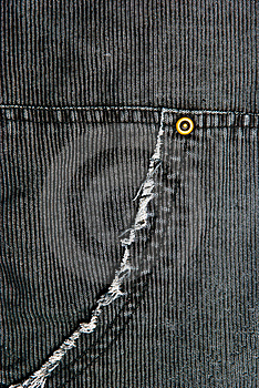 Corduroy Pants Detail Stock Image - Image: 19058111