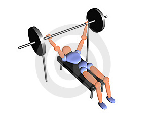 Weight_lifting_new_8 Royalty Free Stock Photos - Image: 19058248