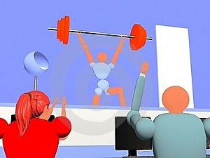 Weight_lifting_new_7 Royalty Free Stock Photo - Image: 19058255
