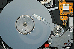 Hard Disk Inside Royalty Free Stock Images - Image: 19059319