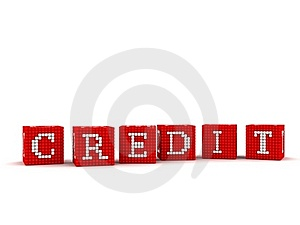 3d Credit Concept Are You Insured Stock Image - Image: 19062691