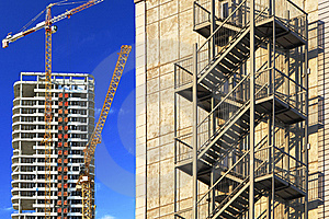 Skyscraper building Stock Photo