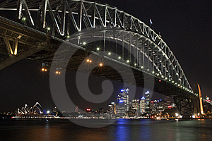 Sydney Harbour Bridge & Opera House Stock Image - Image: 19063961