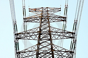 High Tension Line Stock Photos - Image: 19065323