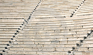 Ancient Theater Of Acropolis Royalty Free Stock Photography - Image: 19065397