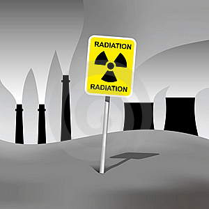 Radiation Sign Stock Photo - Image: 19065420