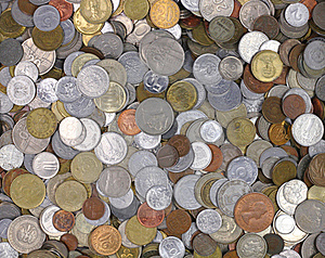 World Coins Stock Photo - Image: 19065470