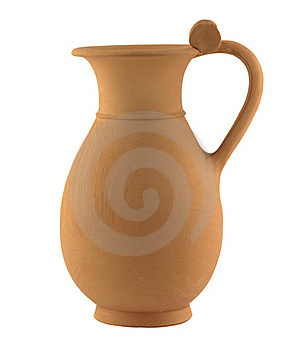 Clay Jug Royalty Free Stock Photo - Image: 19065515