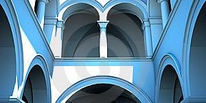 Italian Arcade Royalty Free Stock Image - Image: 19066966