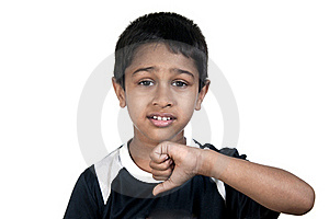 Thumbs Down Royalty Free Stock Photos - Image: 19066988