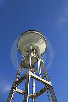Tower Water Supply Royalty Free Stock Image - Image: 19067436