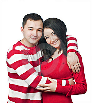Asian Family Royalty Free Stock Image - Image: 19067566
