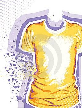 Man's T-shirt. Royalty Free Stock Photography - Image: 19068837