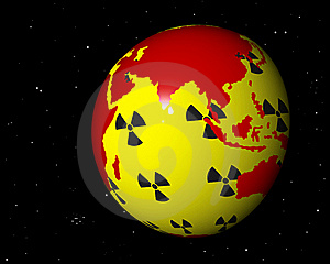 Nuclear Africa Asia Royalty Free Stock Image - Image: 19072576