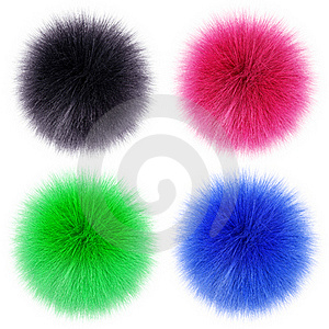 Fluffy Balls Royalty Free Stock Photos - Image: 19076608