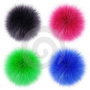 Fluffy Balls Royalty Free Stock Photos - Image: 19076608