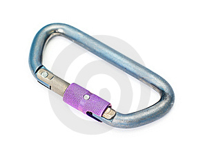 Climbing Equipment - Carabiner Royalty Free Stock Photo - Image: 19077745