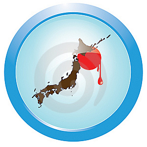 Bleeding Japan Royalty Free Stock Photography - Image: 19077897