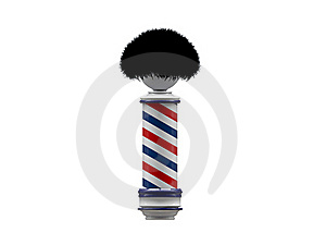 Barber Pole Sign Royalty Free Stock Photo - Image: 19078465
