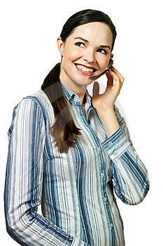Attractive Customer Service Representative Stock Photos - Image: 19079403