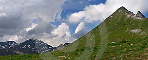 Montains In Swiss Stock Image - Image: 19079681