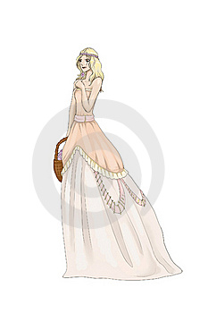 Princess In Pink Stock Photo - Image: 19080910
