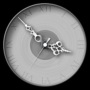 Antique Vintage Clock Stock Image - Image: 19088601