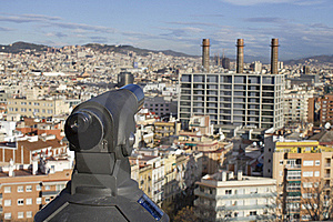 Barcelona Viewpoint Royalty Free Stock Photography - Image: 19088727