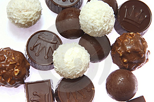 Chocolate Candies Royalty Free Stock Photo - Image: 1910065