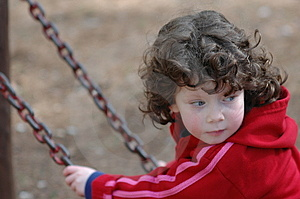 Girl On A Swing Stock Images - Image: 1910874