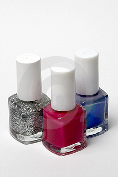 Nail varnish Stock Images